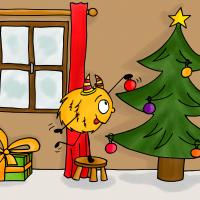 dessin mystik's fête Noël