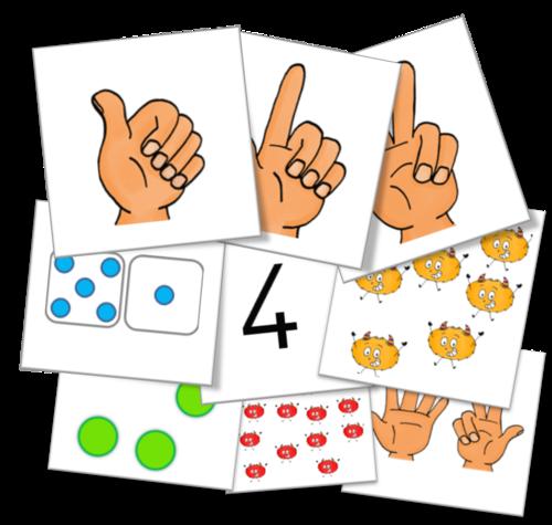 Cycle 1 - Maths - cartes nombres