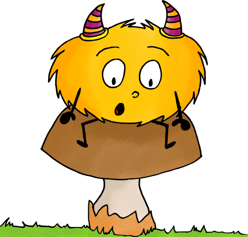 dessin mystik's automne champignon