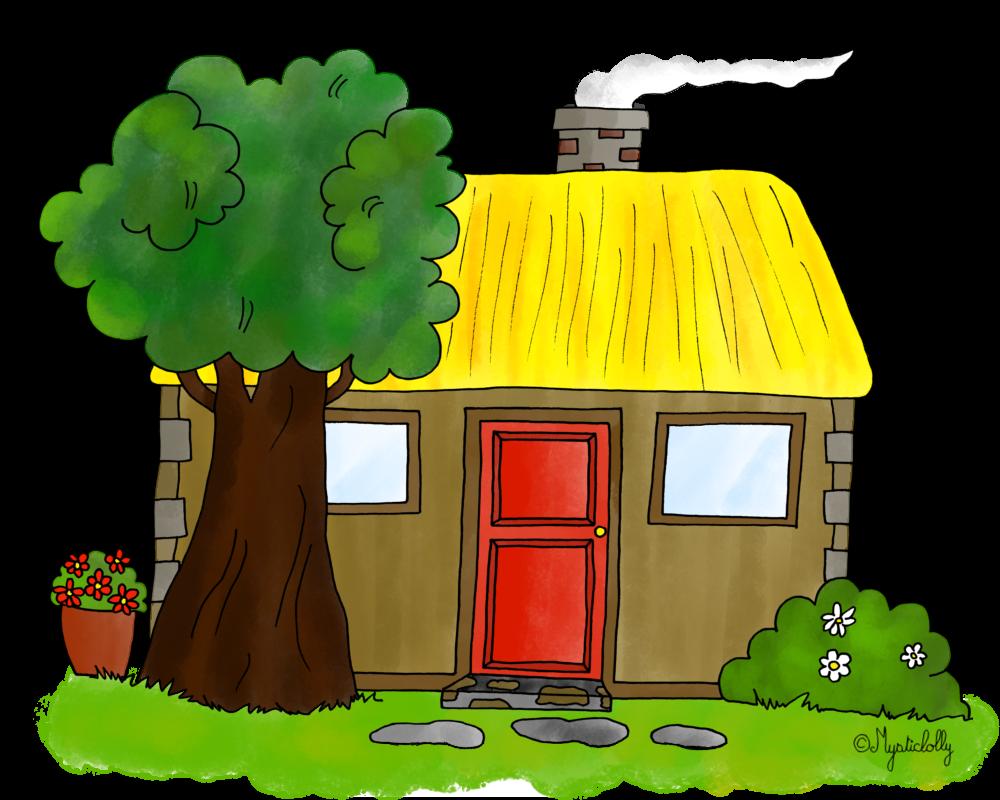 Dessins les lieux des contes le blog de mysticlolly - Image maison dessin ...
