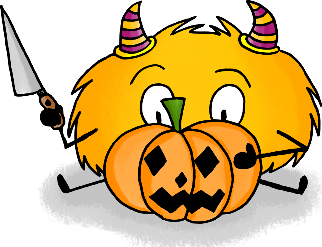 dessin mystik's halloween citrouille