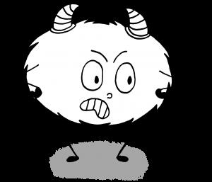 Dessin Emotions Mystik's colère