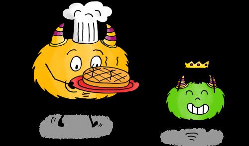 dessin mystik's galette des rois