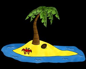 Dessin - L'île