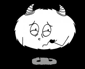 Dessin Emotions Mystik's malade dégoût