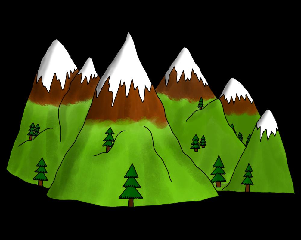 Dessin la montagne le blog de mysticlolly - Dessin de chalet de montagne ...