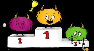 Dessin Mystik's podium