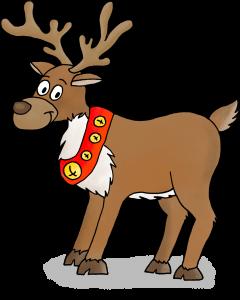Dessins sur le thème de Noël - Le renne