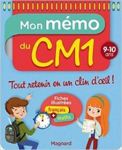 Mon mémo du CM1