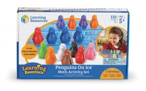 Jeu Penguins on ice