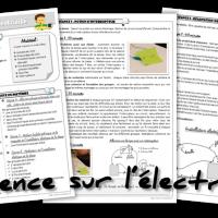 Séquence sciences électricité