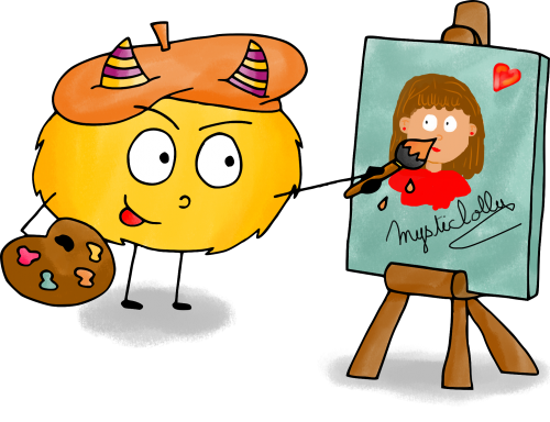 Dessin mystik s est un artiste le blog de mysticlolly for Artiste dessin