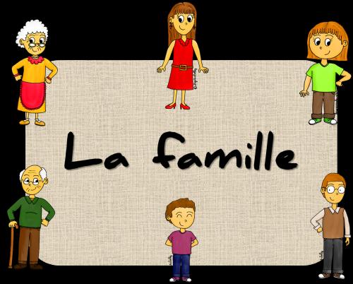 dessins - la famille