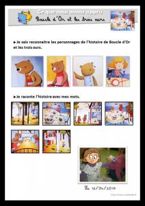 Exemple de carnet des espaces - espace littérature