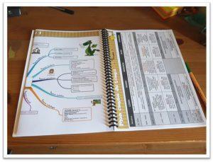 programmation période 1 et emploi du temps carnet de bord
