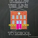 Follow the line to school de Laura Ljungkvist