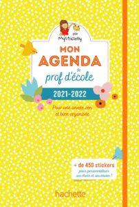 Mon agenda de prof d'école 2021-2022