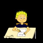 Dessin écrire maternelle