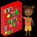 Dessin - Le responsable de la bibliothèque