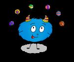 Dessin Cirque Mystik's jongleur