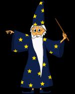 Dessin - Le magicien