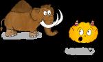 Dessin Préhistoire Mystik's mammouth