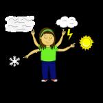 Dessin - Le responsable météo