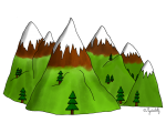 Dessin - La montagne