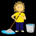 Dessin - Nettoyer la classe