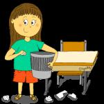 Dessin - Le ramasseur de papiers
