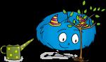 Dessin sciences Mystik's plante un arbre