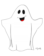 Dessin - fantome