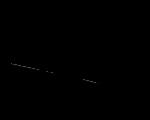 Dessin - sorcière balai noir et blanc
